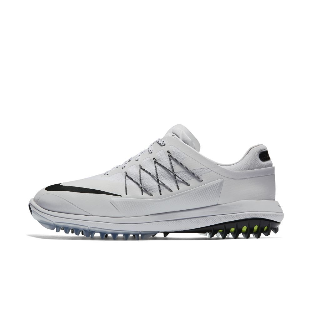 Nike Lunar Control Vapor (Wide) Men's Golf Shoe Size 10.5 (White)