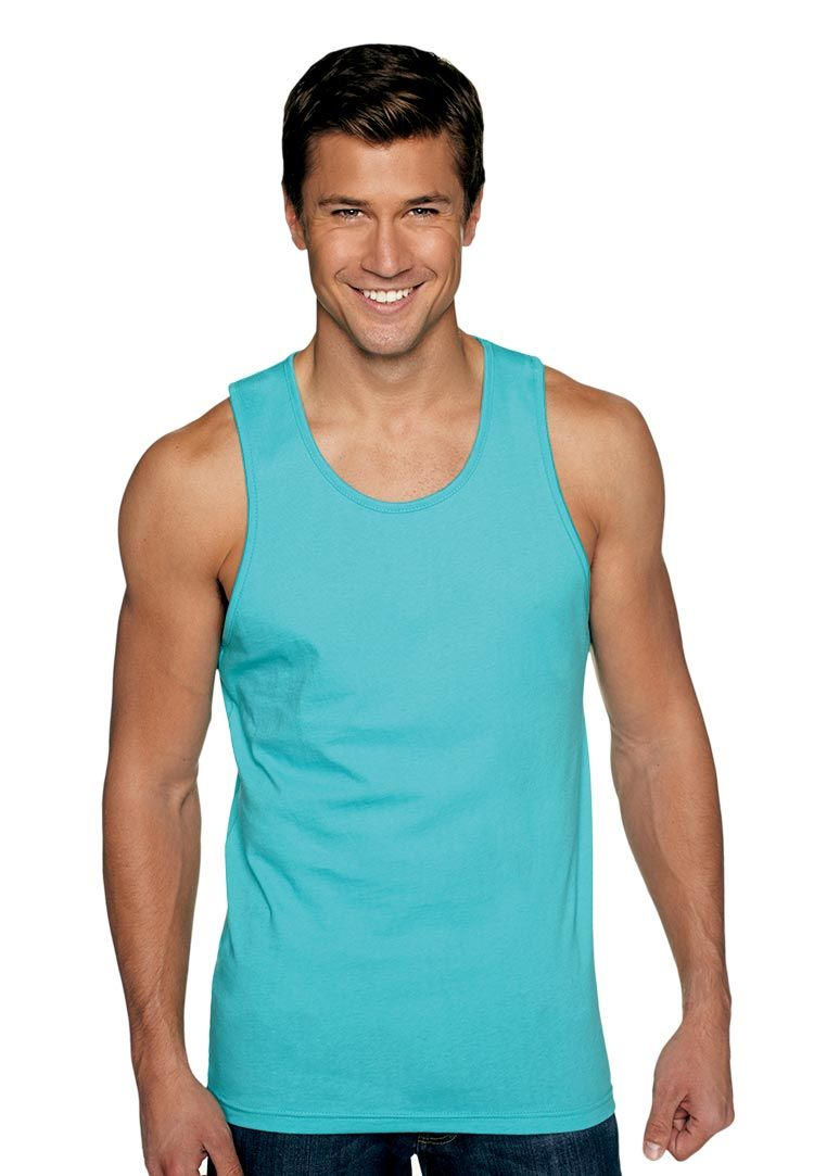 d52896256a7de Next Level 3633 Mens Premium Jersey Tank Features  100% combed ringspun  cotton fine Jersey 4.3 oz. 32 singles