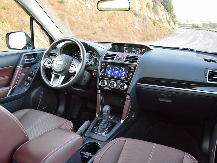 Nydn 2017 Subaru Forester 2 0xt Touring Interior Dashboard