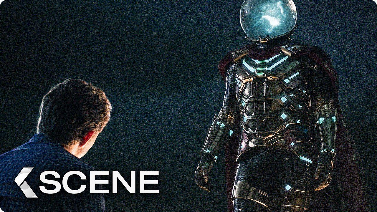 Peter and Mysterio talk about Superhero Stuff Scene