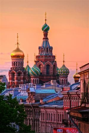 Church of Our Savior on The Spilled Blood, St. Petersburg, Russia