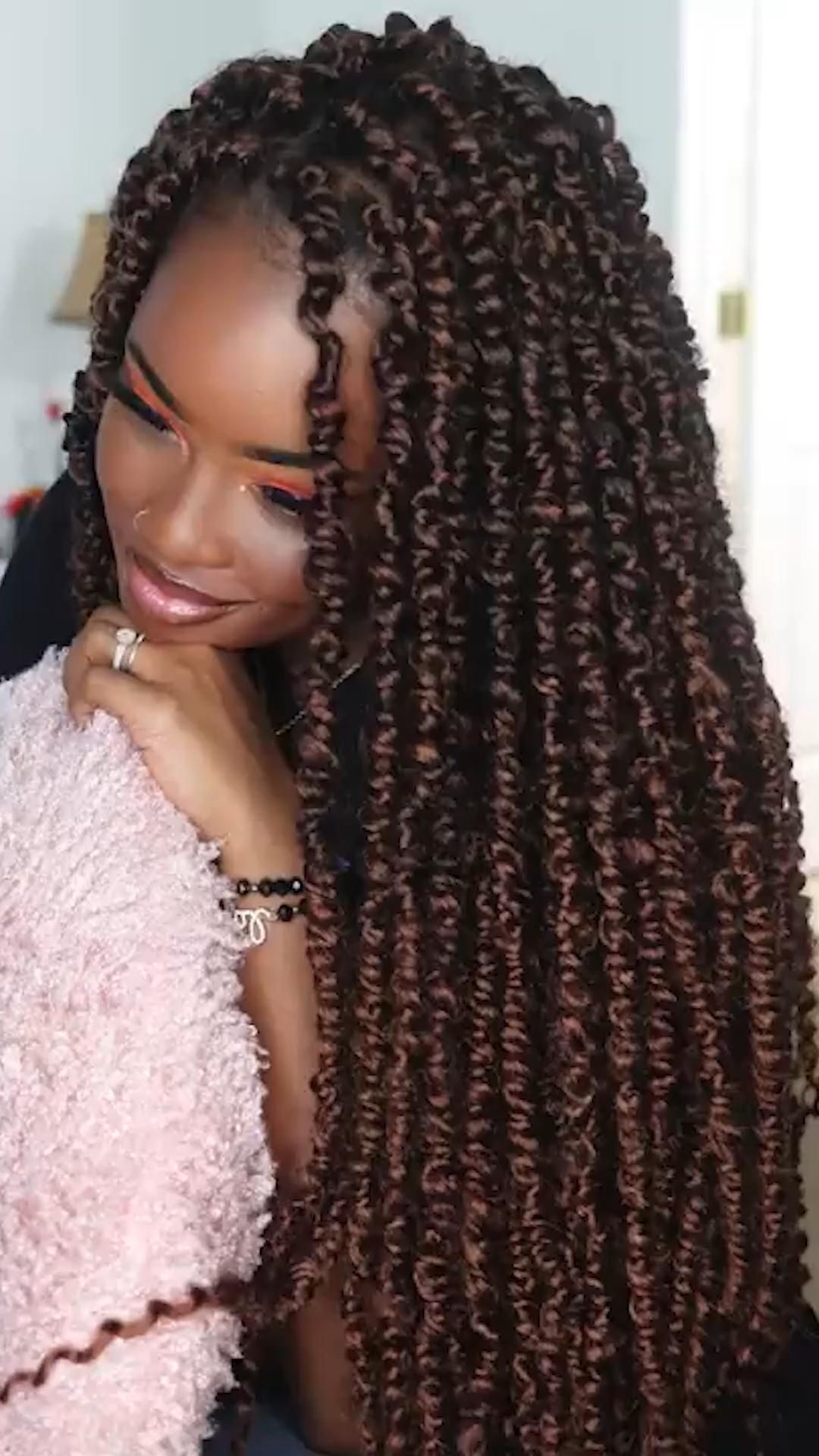 Pre Twisted Passion Twits Crochet Braids Hair Gallery