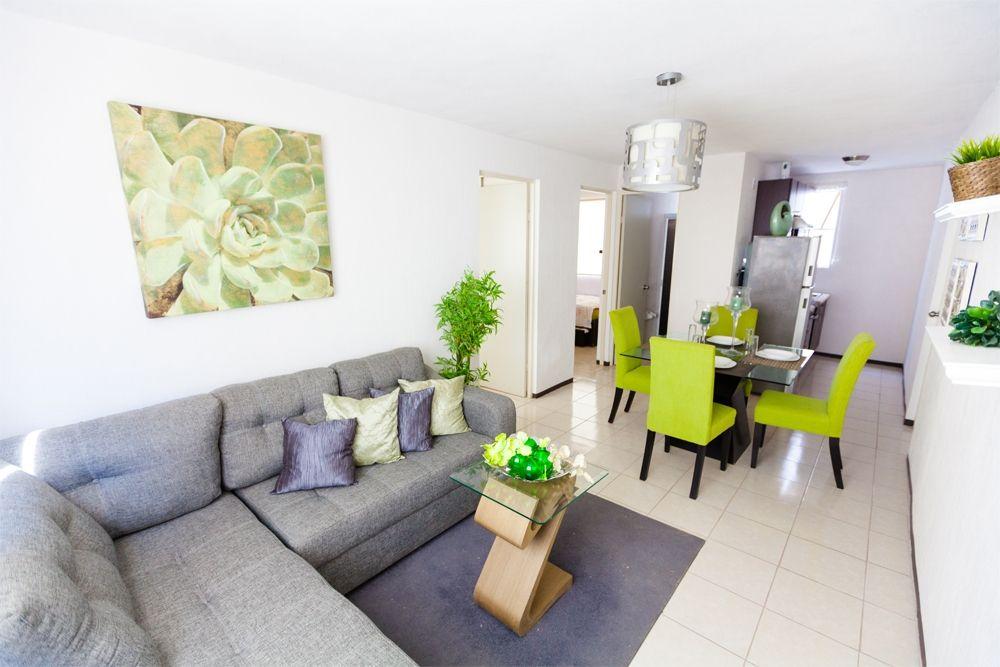 Bien distribuido en un solo espacio casa decoracion for Decoracion espacios pequenos sala comedor