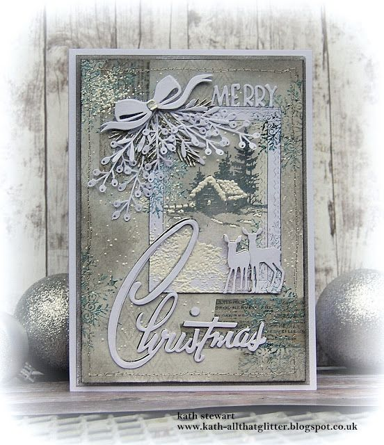 Kath's Blog......diary of the everyday life of a crafter: Simon Says - Christmas/Winter Holidays