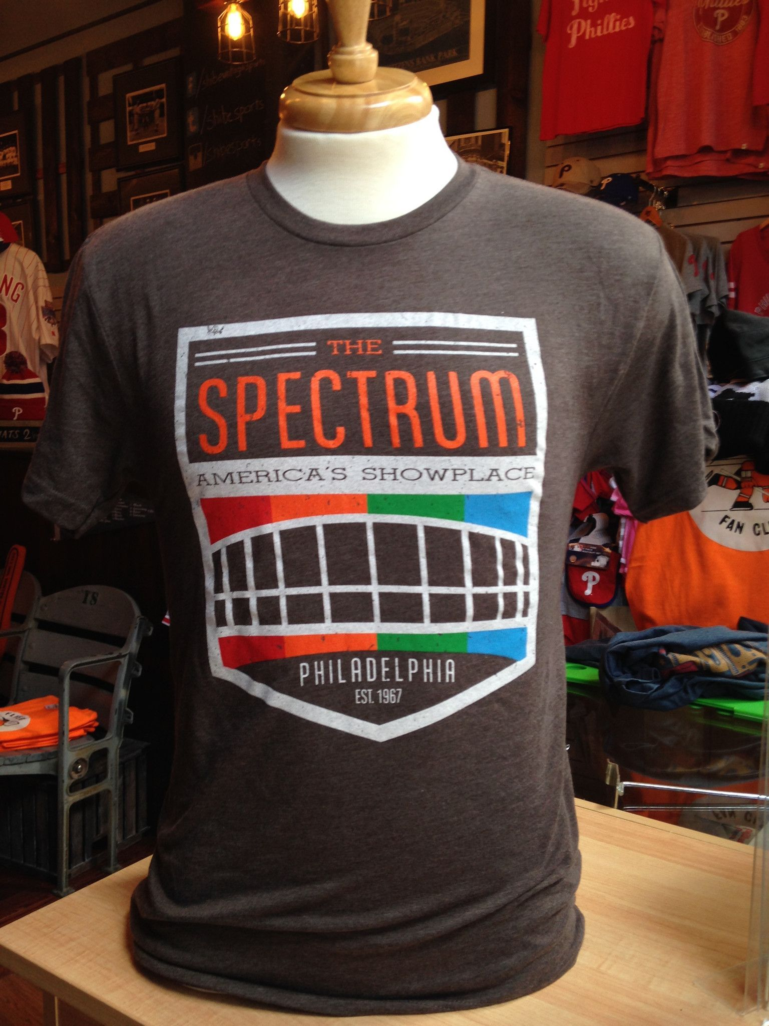 fa9be4defd11  Spectrum T-Shirt from Shibe Vintage Sports  Flyers  Sixers  76ers   Phillies  Eagles  Philly  Philadelphia