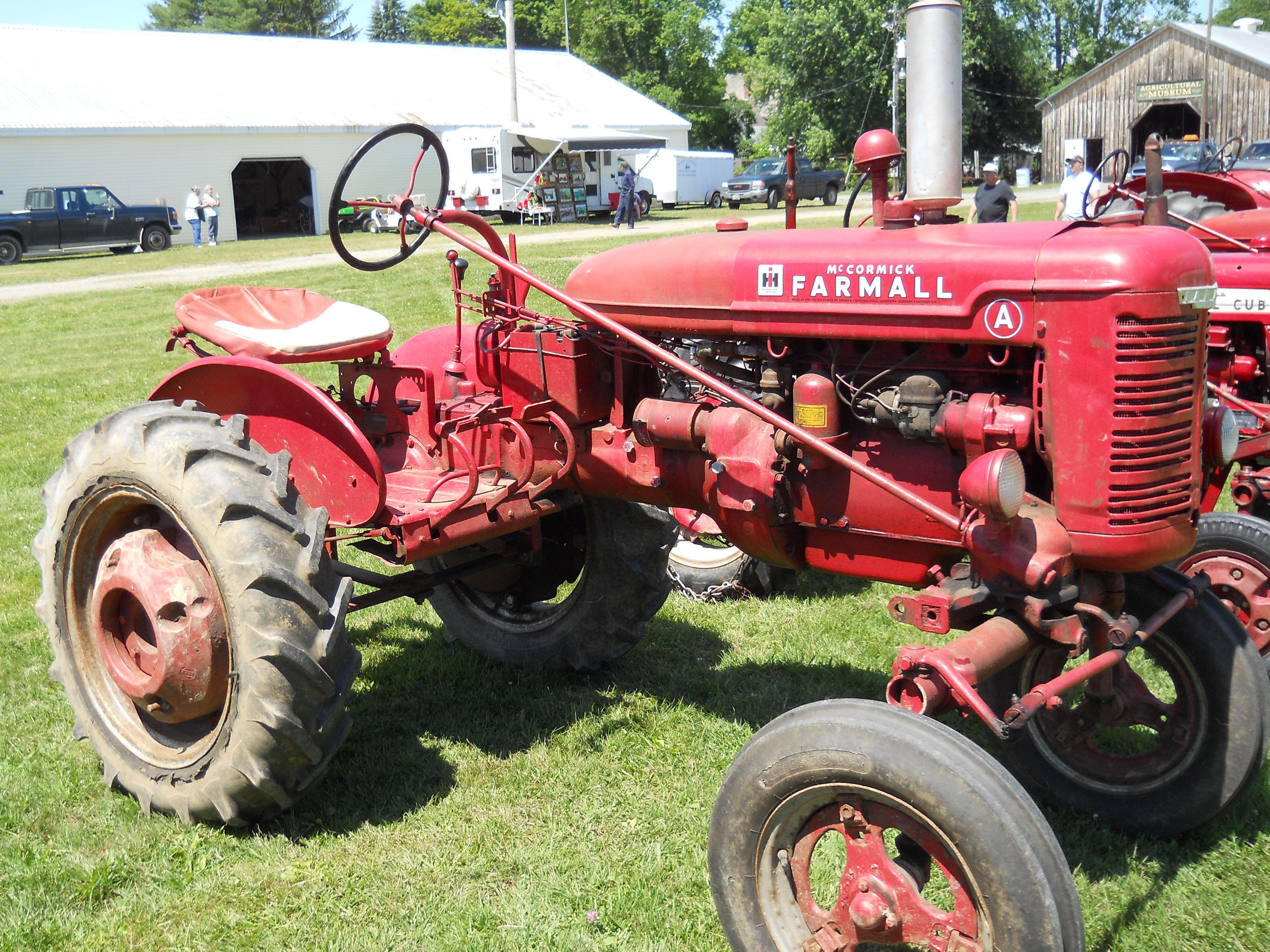 Farmall A Tractor Tractors Farmall Tractors Farmall