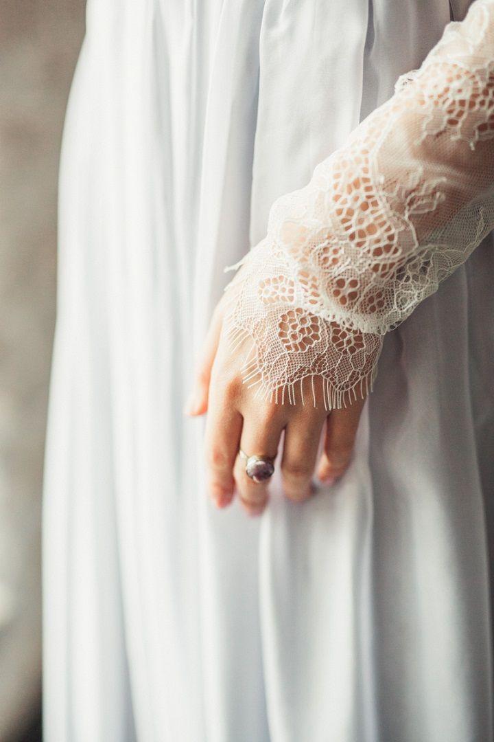 Grey and Purple Wedding Colours for a Crystal Fairytale Wedding Inspiration | fabmood.com #wedding #weddinginspiration #fairytale #crystal #purplewedding #greywedding