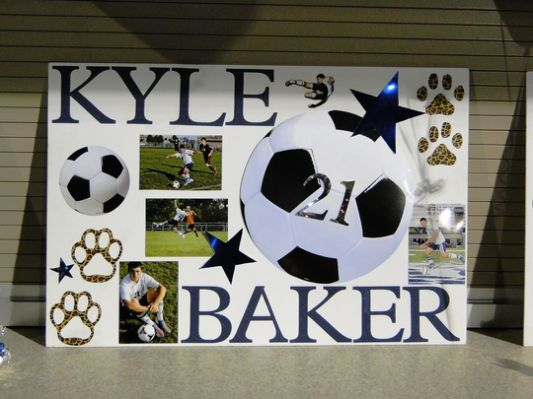 Soccer Senior Night Ideas For Soccer Senior Night Posters Senior Night Gifts Senior Night