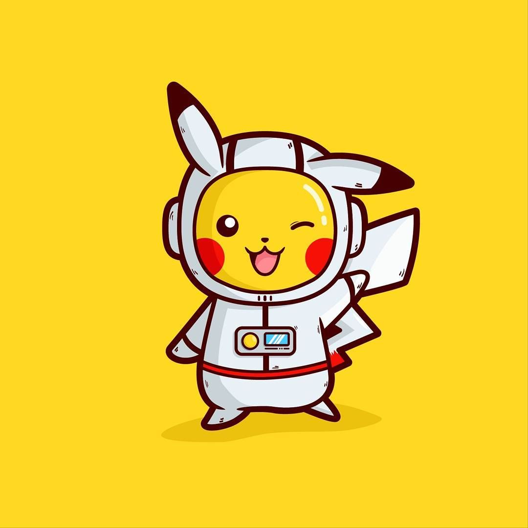 Everyone can be an astronaut. Even Pikachu can be an astronaut too ...