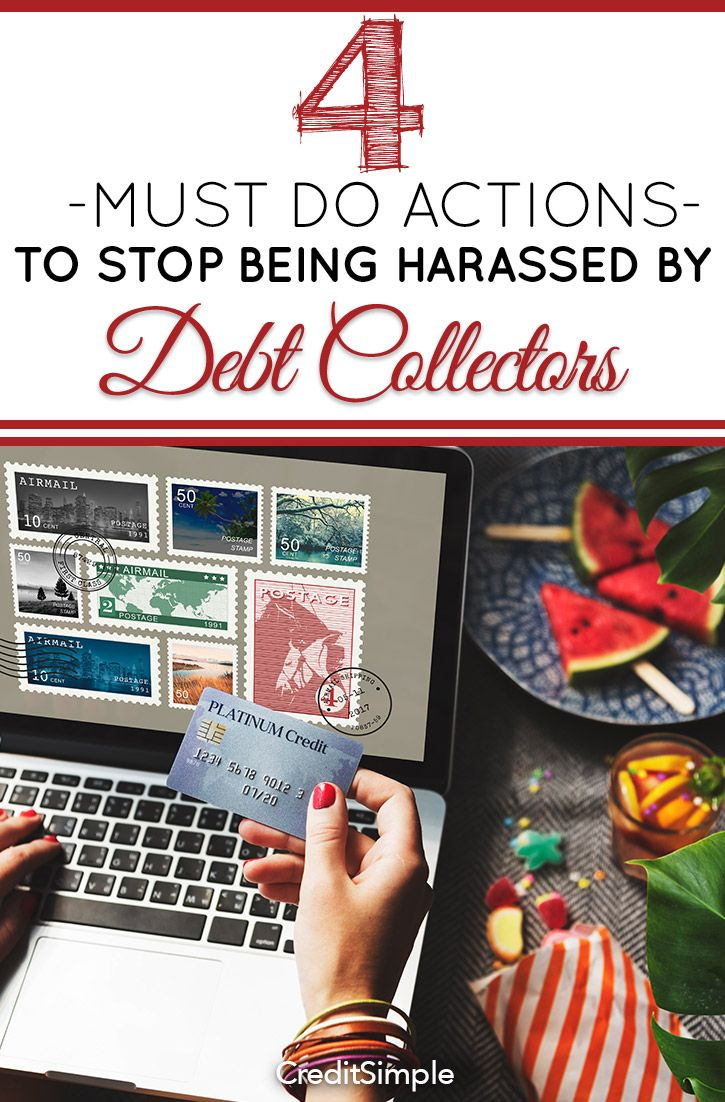 4 mustdo actions to stop being harassed by debt