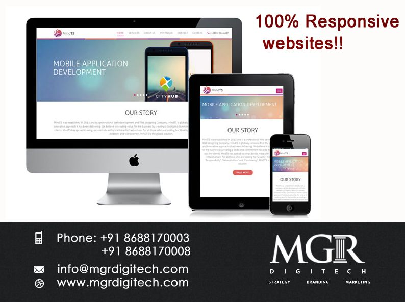 Responsive Web Design Makes Your Web Page Look Good On All Devices Desktops Tablets Mobile Application Development Mobile Application Responsive Web Design