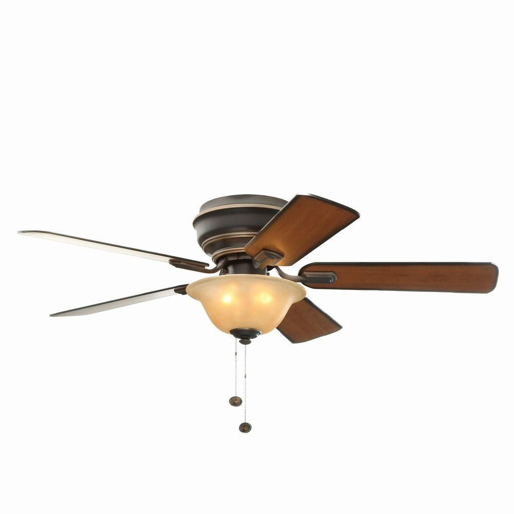 Hampton Bay Ceiling Fan Light Bulb Replacement Mesmerizing Hampton Bay Hawkins 44 Inindoor Tarnished Bronze Ceiling Fan With Decorating Design