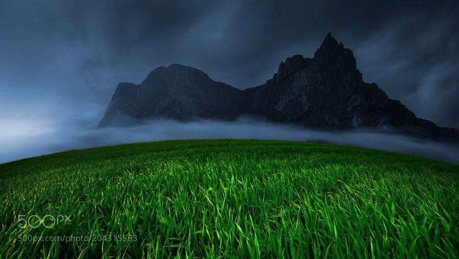 Green&Blue by geken