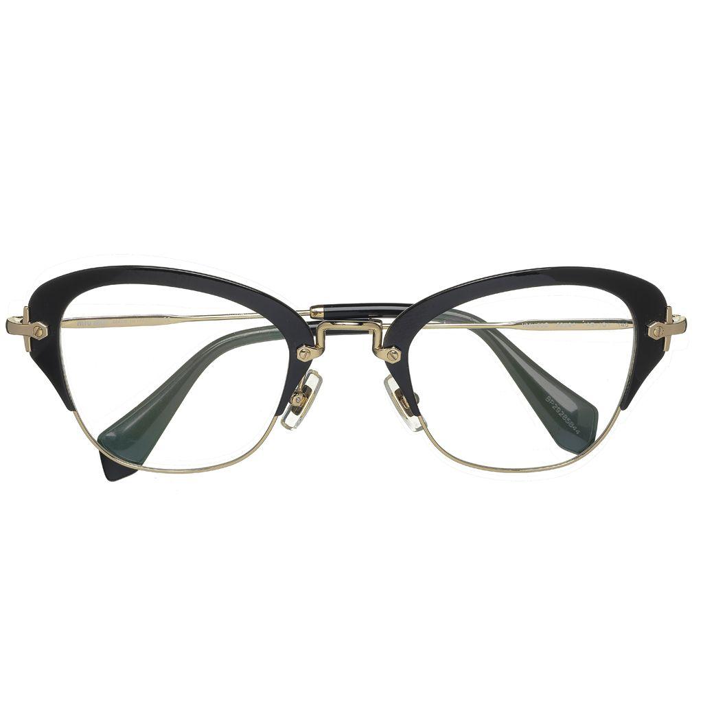 Lunettes de vue Miu Miu Eyewear - 8 paires de lunettes pour femmes ...