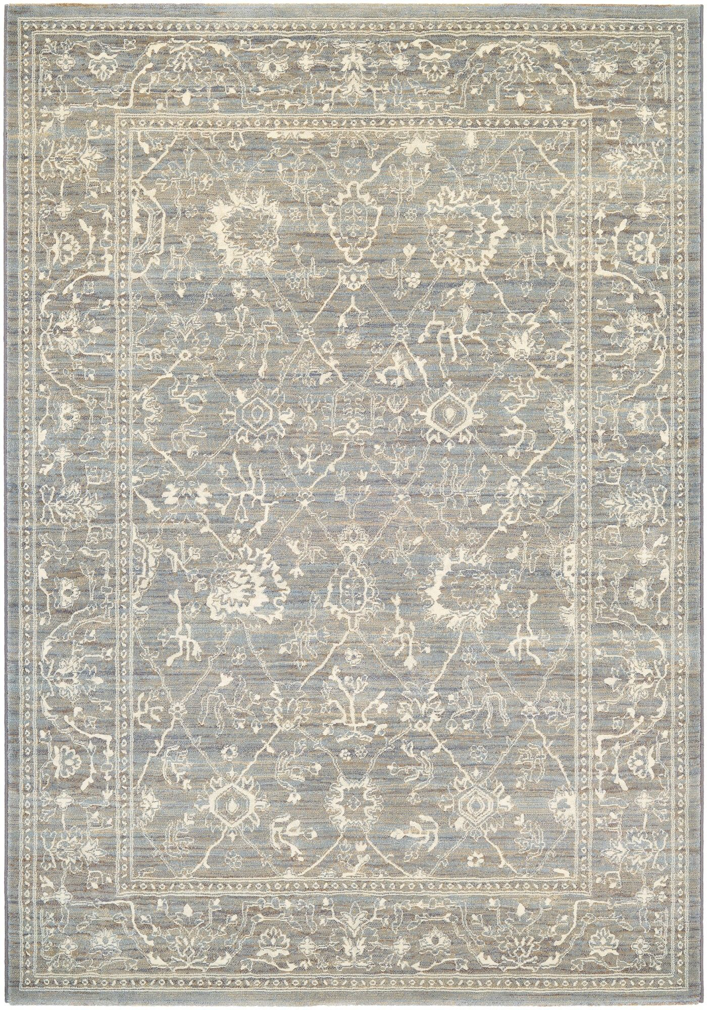 Couristan Everest Persian Arabesque Charcoal Ivory Area Rug Reviews Wayfair