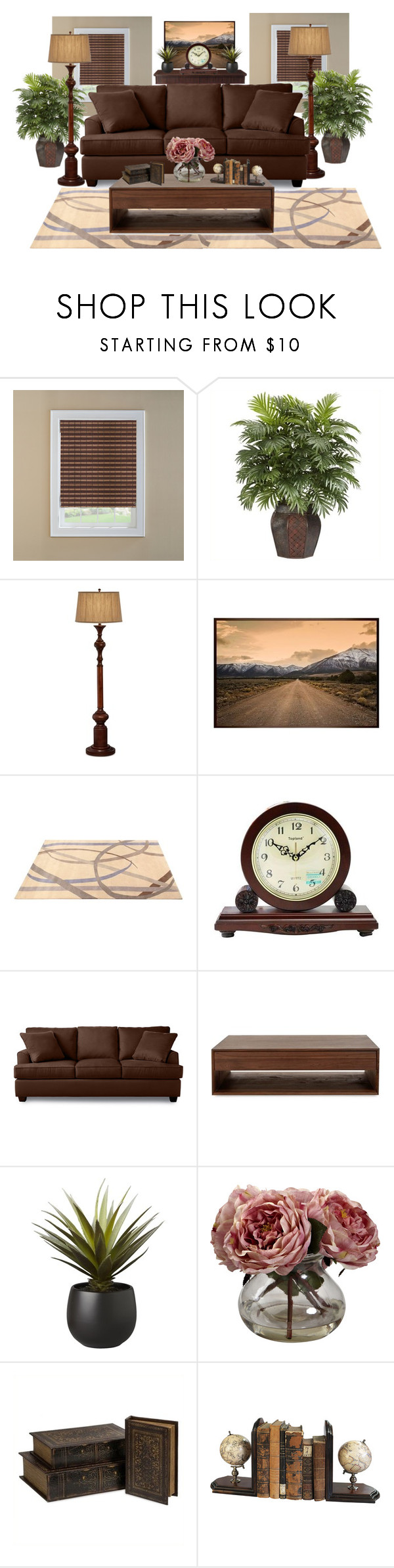 """home decor"" by armsdani ❤ liked on Polyvore featuring interior, interiors, interior design, home, home decor, interior decorating, Nearly Natural, Pacific Coast, Pottery Barn and ABC Italia"
