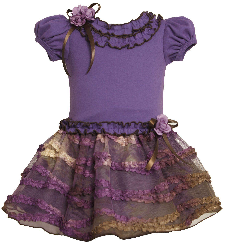 e94f7f11d5da Amazon.com: Bonnie Jean Girls 2-6X blusa tejida a soltar Falda ...