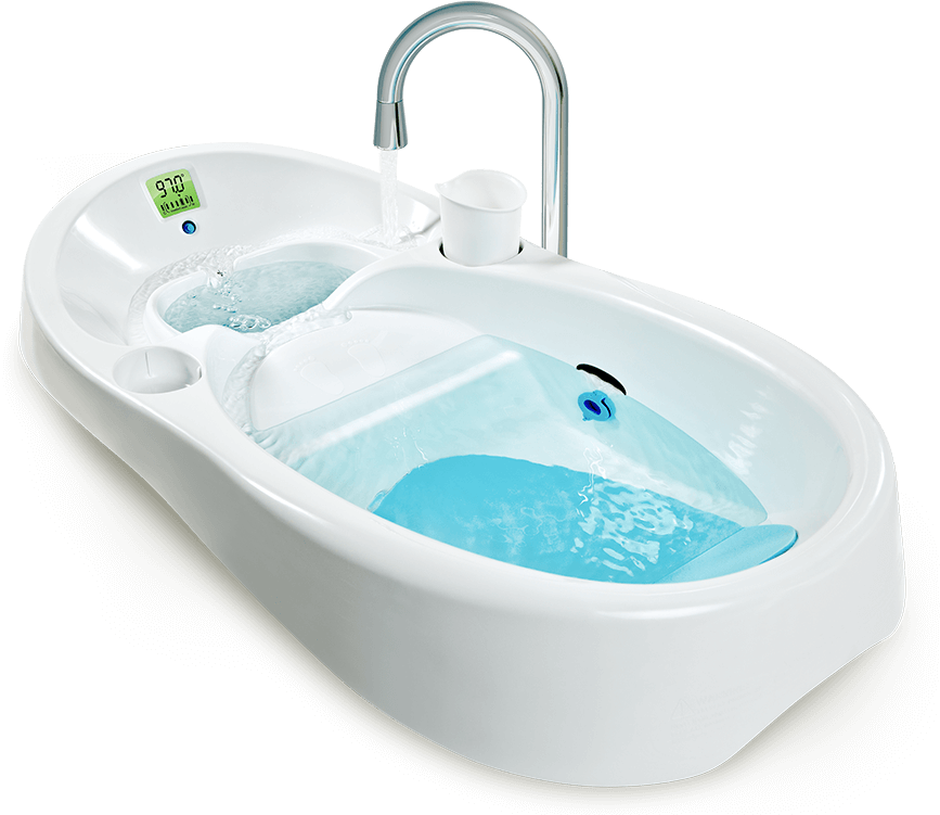 993 4moms Infant Bath Tub It Includes A Built In Digital
