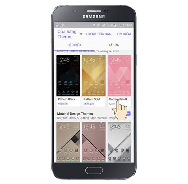 Hướng dẫn bạn cách thay đổi theme màn hinh cho Samsung Galaxy A7 2016. Xem để biết thêm chi tiết.