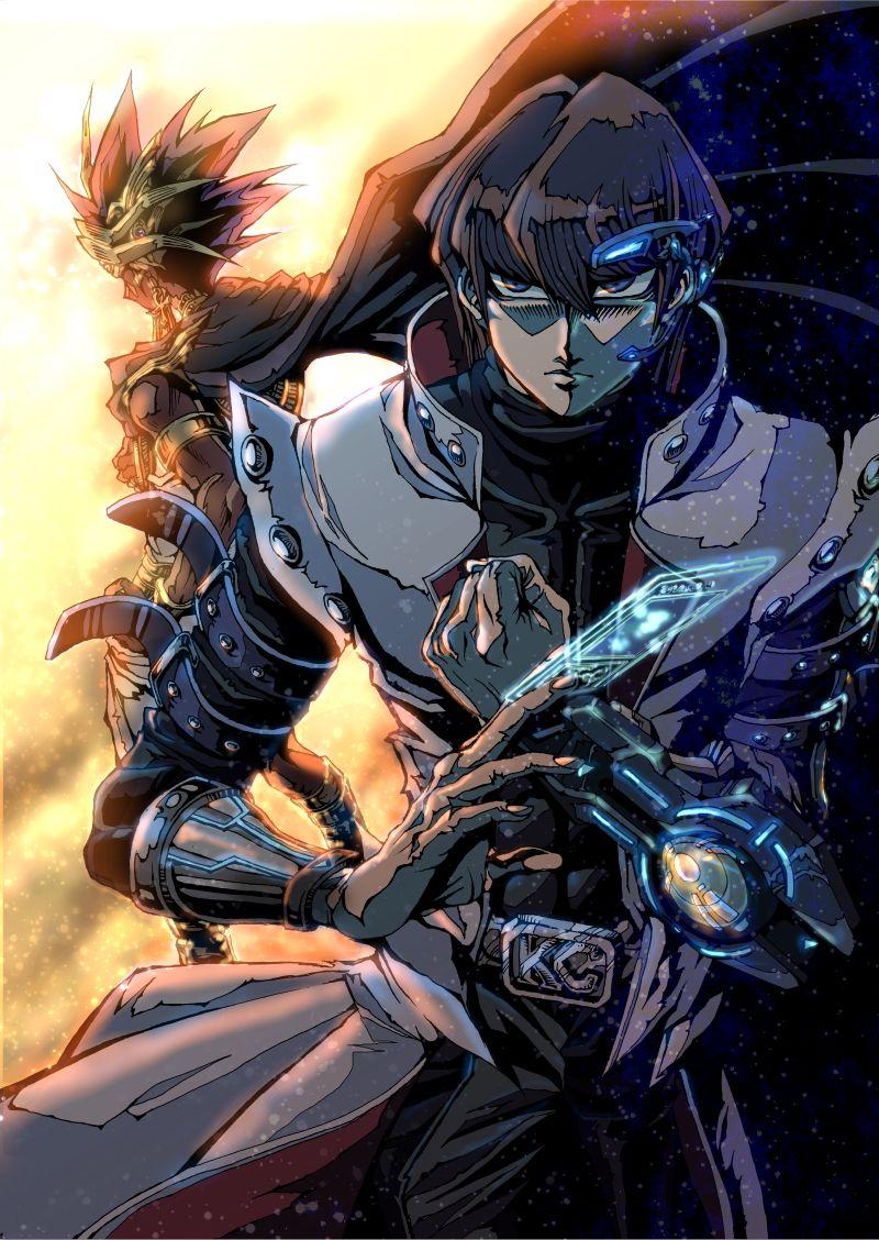 Atem and Kaiba DSOD YuGiOh! Pinterest Anime and Manga
