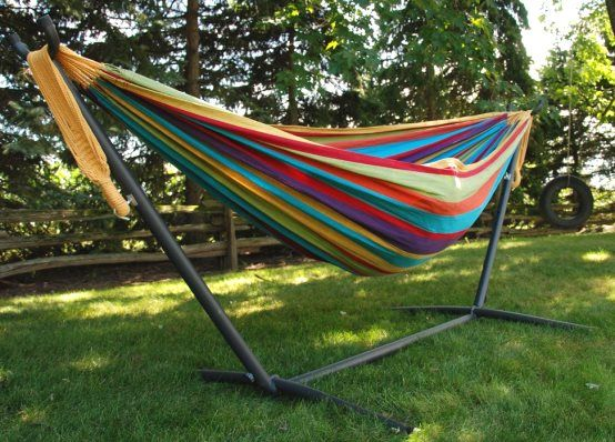 know the of wooden hammock stand
