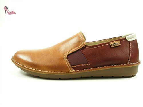 Chaussures Pikolinos Azores marron Casual homme