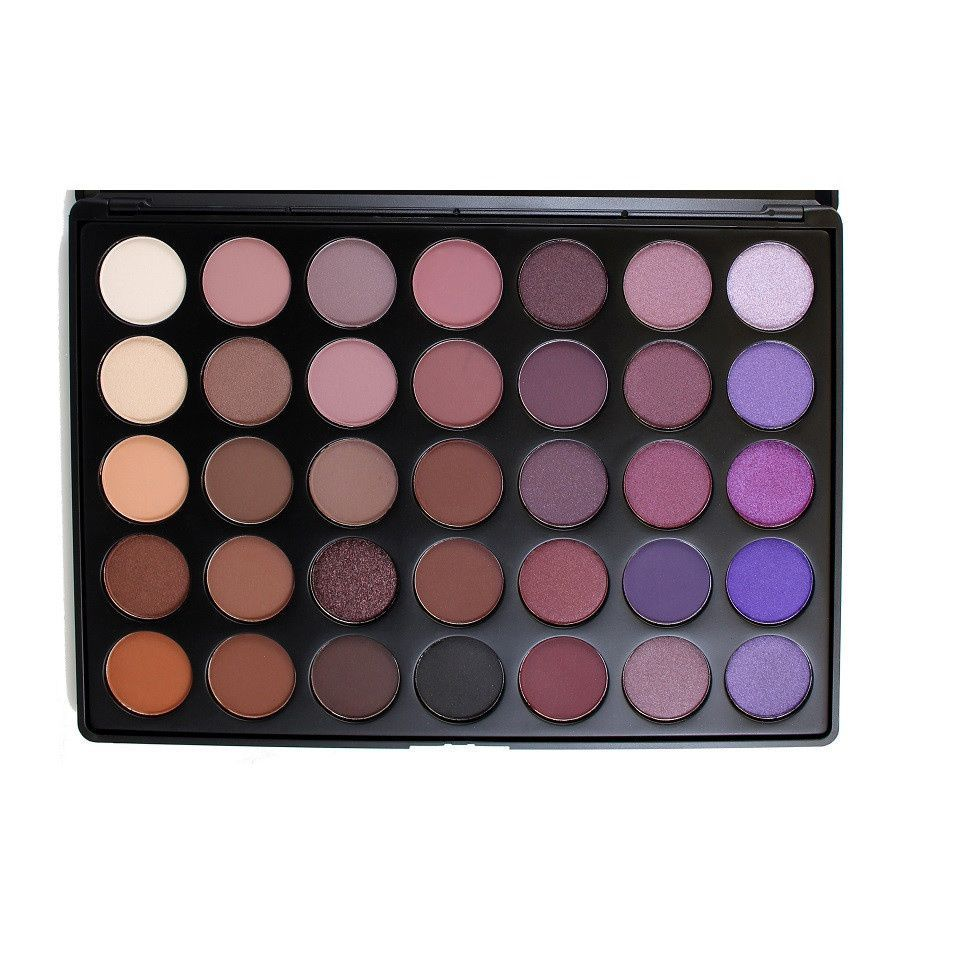 From Purple To Brown Pink Tones This Versatile Make Up Palette Contains 35 Diffe Colors Of Eye Shadow Dress Or Down Your Look My Mix And
