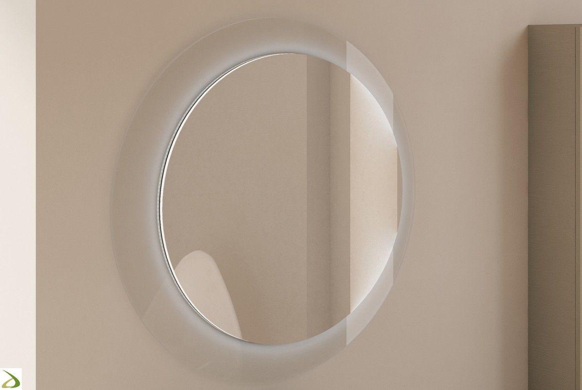 Specchio rotondo da bagno Satu | Arredo Design Online ...
