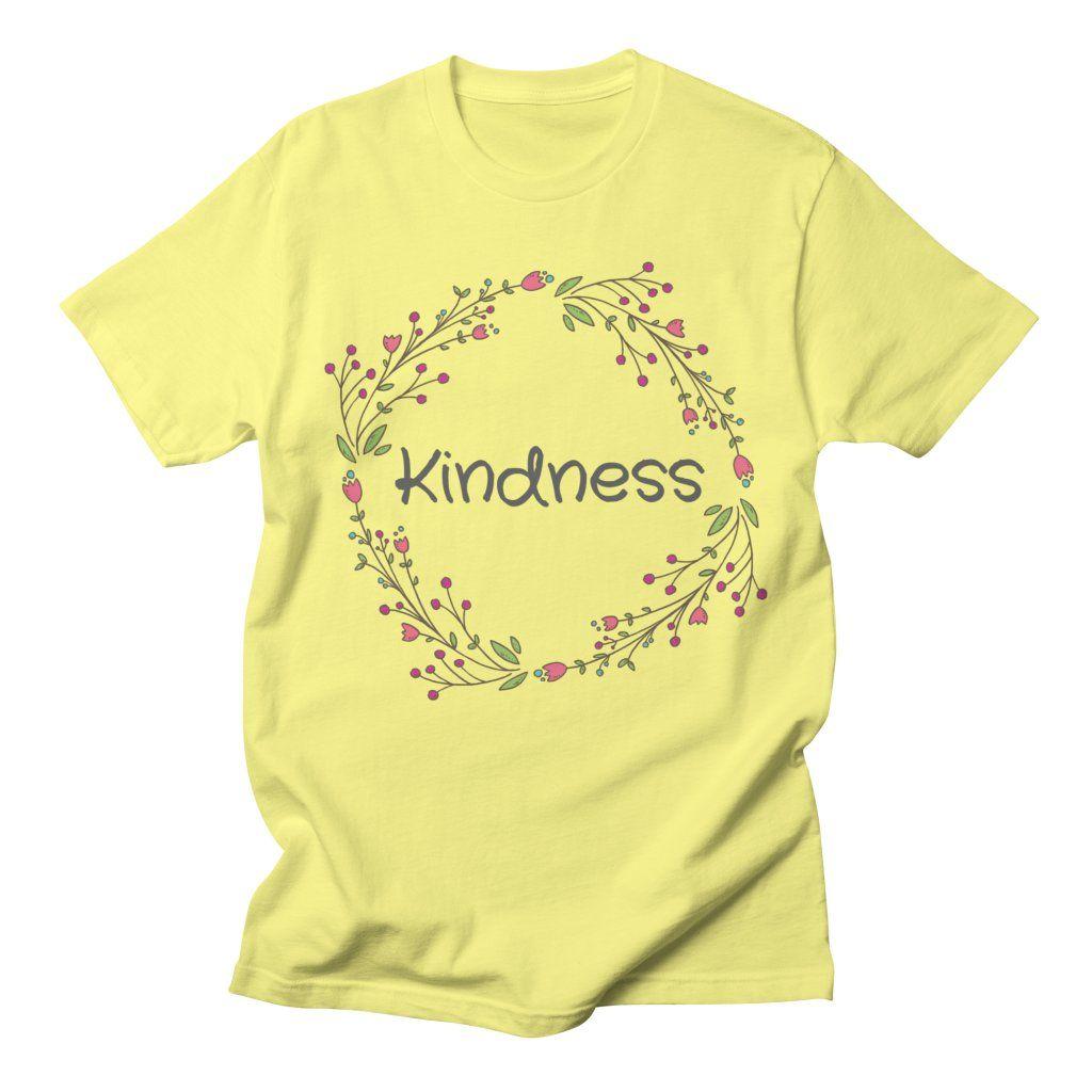 Kindness Cute Funny Happy Spiritual Positive Goodvibes Gift Men's T-Shirt by EpsilonEridani
