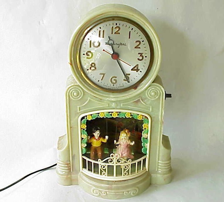 Clock girl mastercrafters swinging