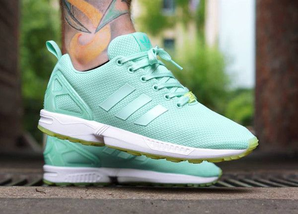 sneakers adidas zx flux w chaussures running femme