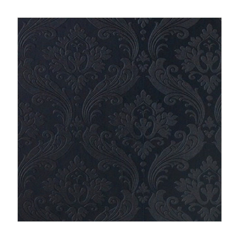 Kelly Hoppen Vintage Flock Wallpaper Black Amazon Co Uk Diy Tools Damask Wallpaper Victorian Wallpaper Flock Wallpaper
