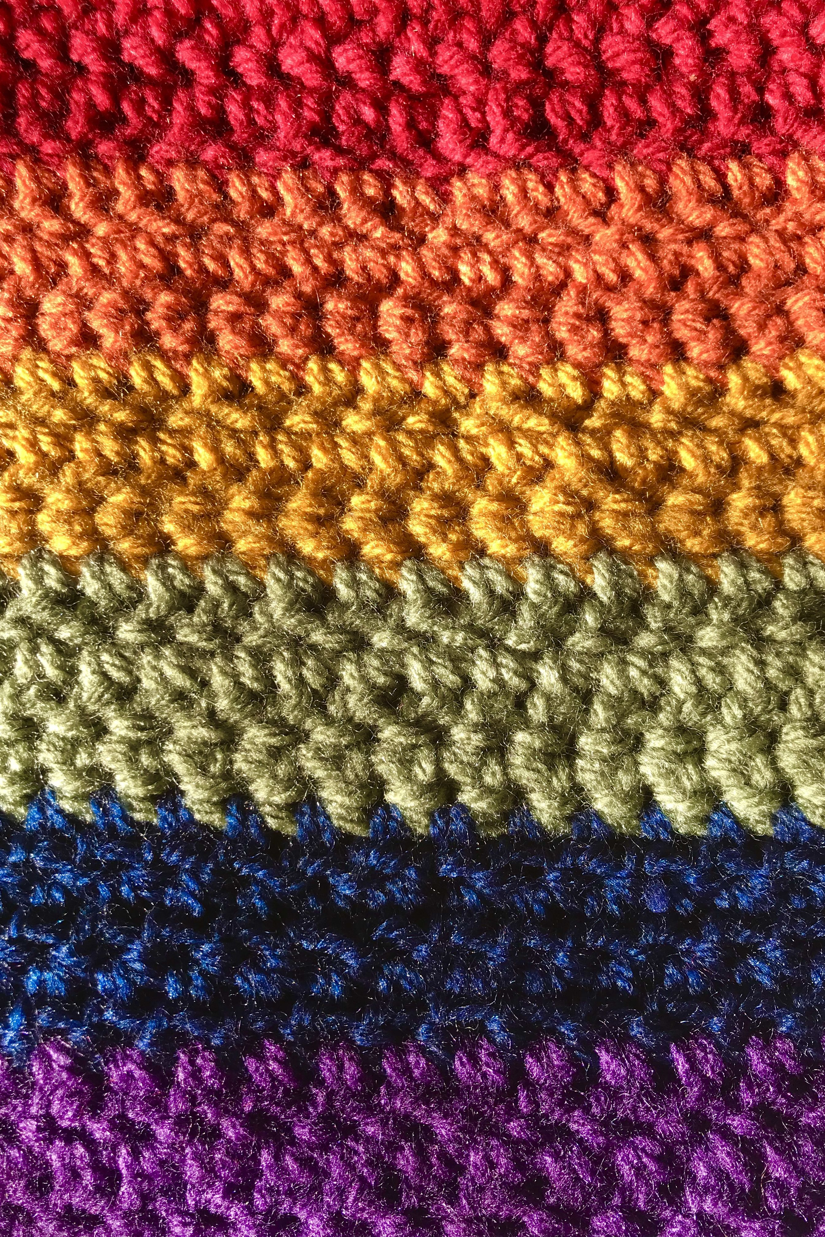 Crochet Rainbow Winter Iphone Background Wallpaper Iphone Background Wallpaper Winter Backgrounds Iphone Crochet Art