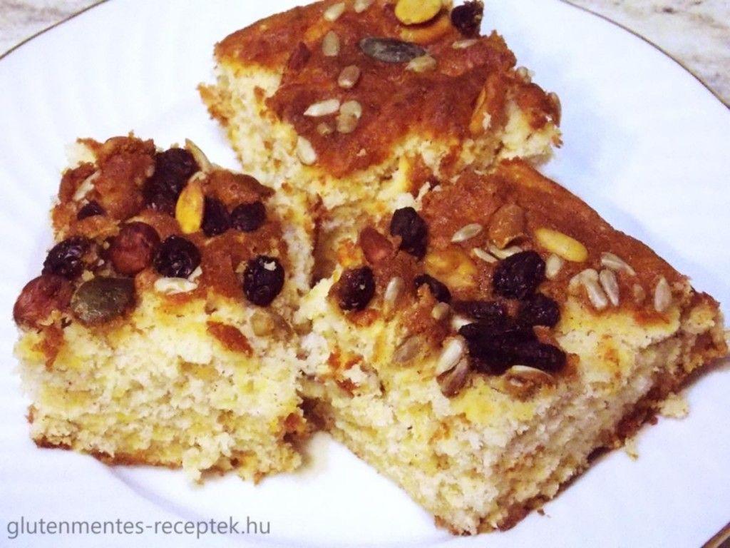 Kevert almás süti gluténmentesen | Gluténmentes Receptek