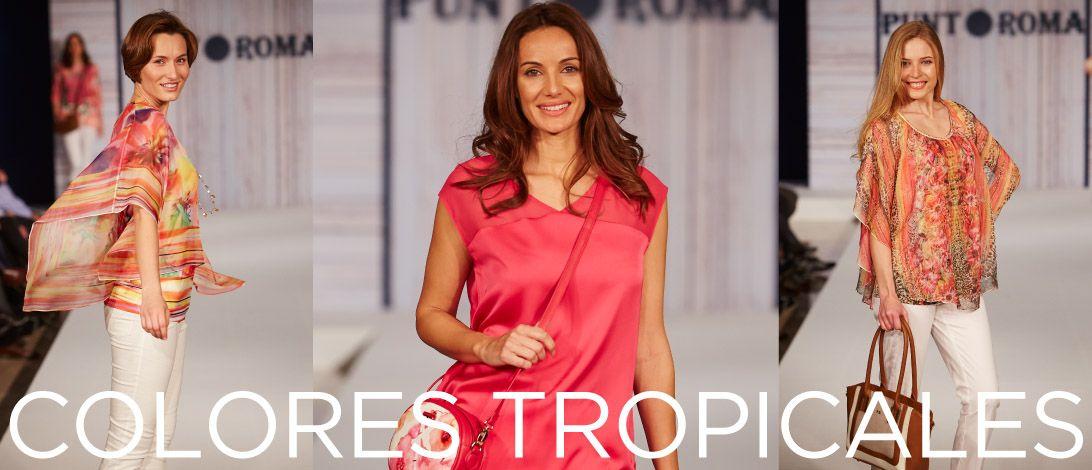 ¡Llegan los colores tropicales! Descubre todas las novedades en Punt Roma Online. ►► www.puntroma.com