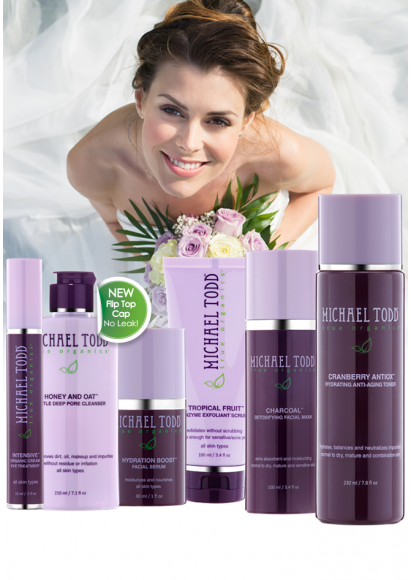 The perfect skin regimen leading up to your wedding day!