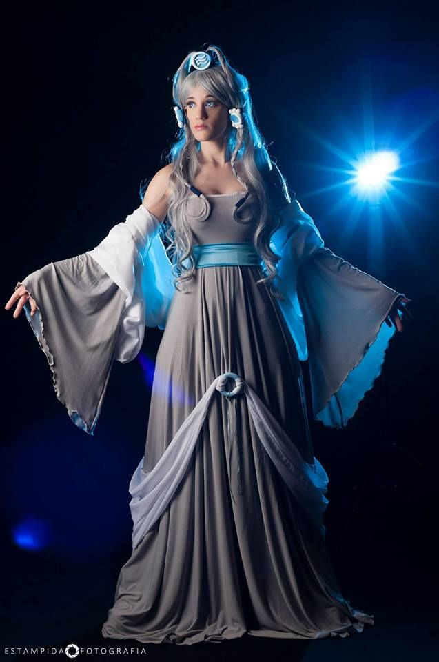 Avatar:The Last Airbender Cosplay Princess Yue Costume