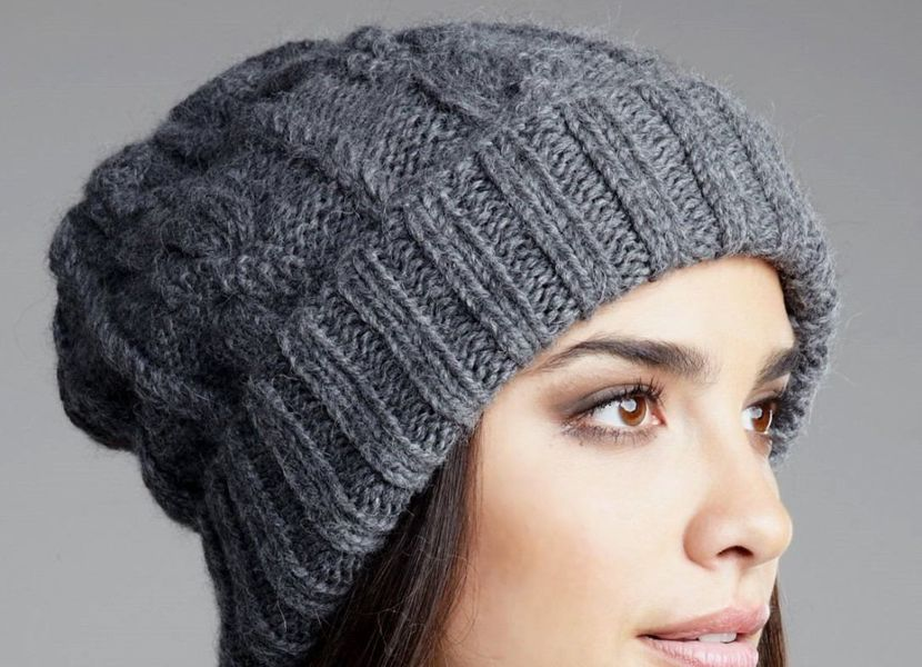 Tendencias de gorras tejidas  0b848a1117dd