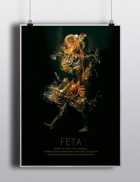 Poster of XVI International Street and Open-Air Theatres Festival FETA.