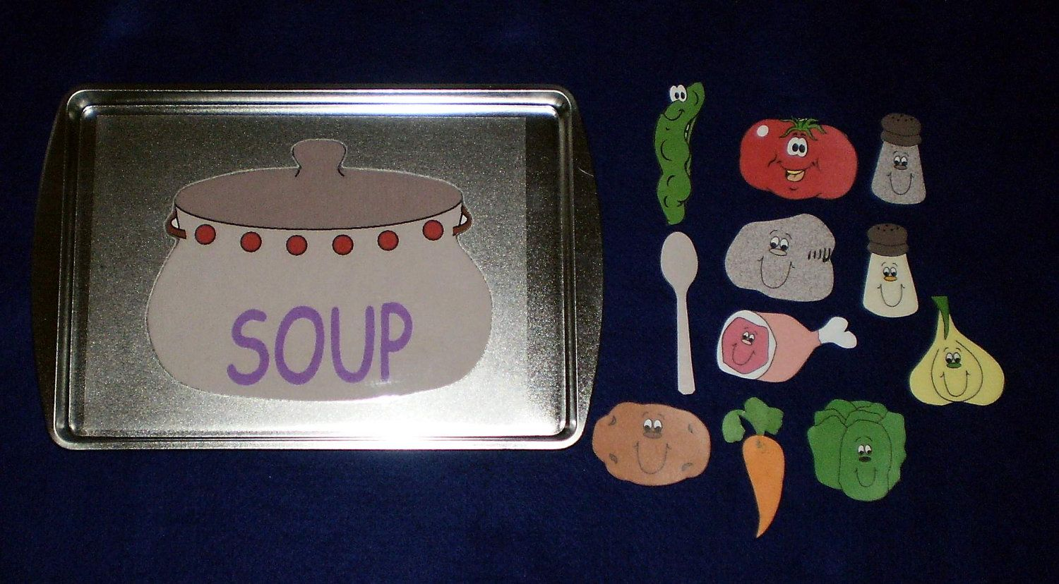 Stone Soup Storytelling Magnetic Activity Teaching