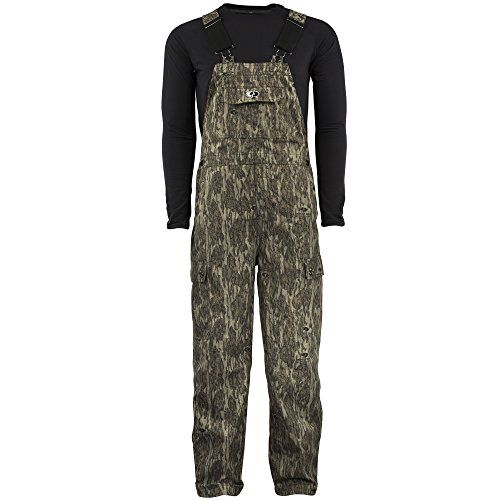 mossy oak men s cotton mill uninsulated hunting bib on uninsulated camo overalls for men id=90660