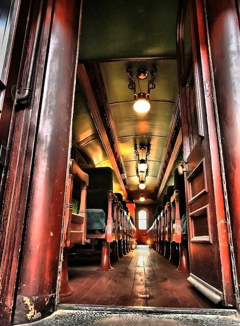Elegant passenger car on an old train | Magical Places in ...