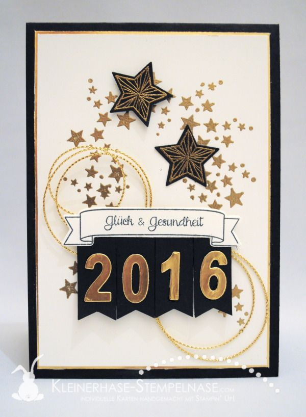 Stampin Up New Year Silvester Sterne 01