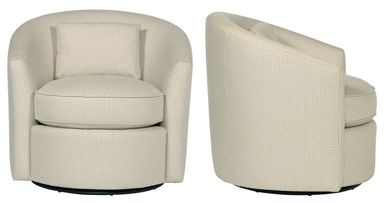 Elizabeth Swivel Chair N1745 Swivel Chair Chair Contemporary Occasional Chairs
