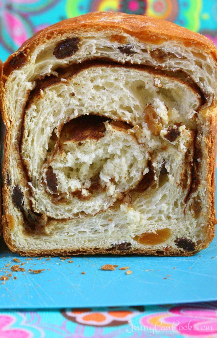 Cinnamon Swirl Raisin Bread Recipe In 2020 Raisin