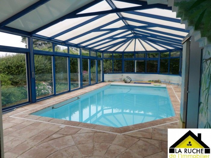 Pavillon individuel avec piscine couverte immobilier - Location maison avec piscine couverte ...