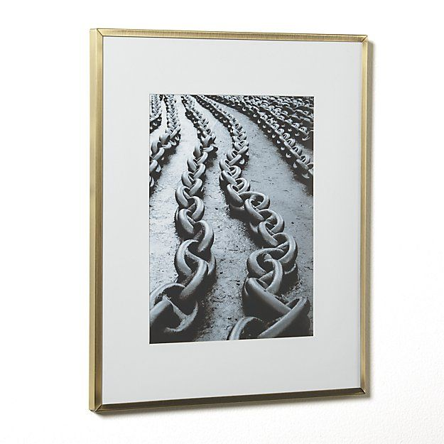 Hendry 8x10 Wall Frame | Crate and Barrel | Art and accesories ...