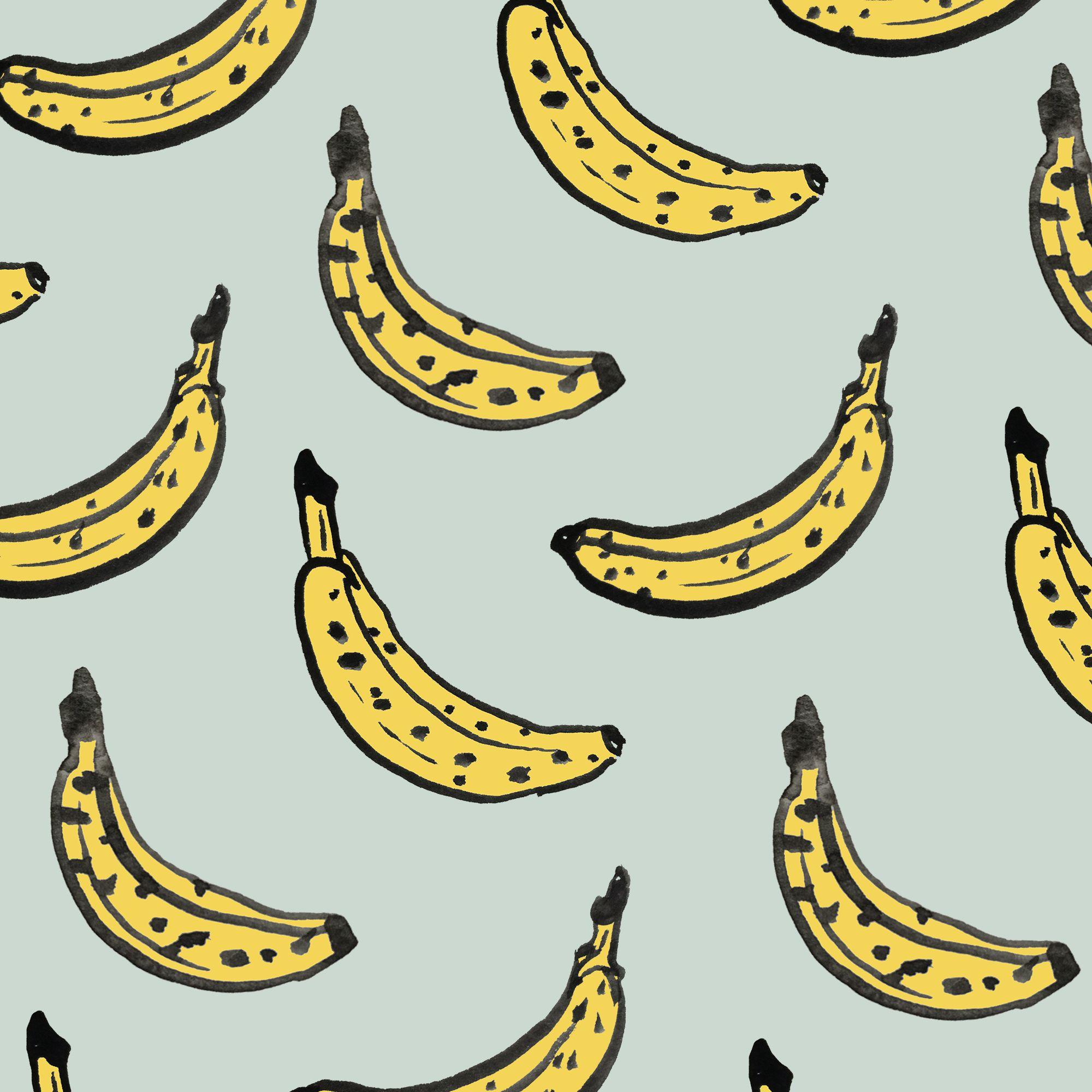 Bananas pattern by Sara Combs