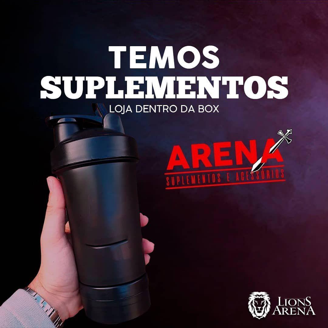 Voc pode comprar suplementos na loja Arena Suplementos em nossa box Venha conferir Box lionsArena      Agncia publicitria agenciavector