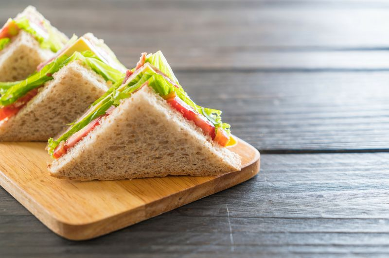 how to make vegetable sandwich at home